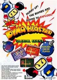 Advert for Dynablaster / Bomber Man on the Arcade.
