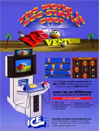 Advert for Egg Venture on the Arcade.