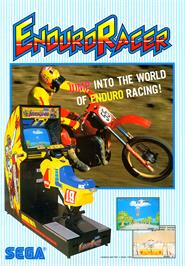 Advert for Enduro Racer on the Atari ST.