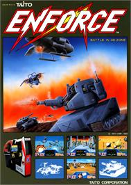 Advert for Enforce on the Arcade.