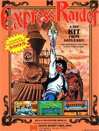 Advert for Express Raider on the Arcade.