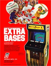 Advert for Extra Bases on the Arcade.