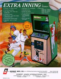 Advert for Extra Inning on the Arcade.