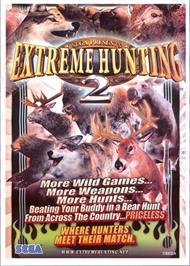 Advert for Extreme Hunting 2 on the Arcade.