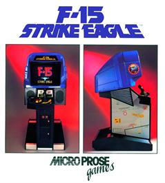 Advert for F-15 Strike Eagle on the Sega Game Gear.