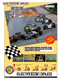 Advert for F-1 Dream on the Arcade.
