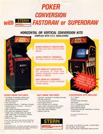 Advert for Fast Draw on the Arcade.