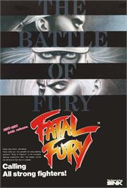 Advert for Fatal Fury - King of Fighters / Garou Densetsu - shukumei no tatakai on the Arcade.
