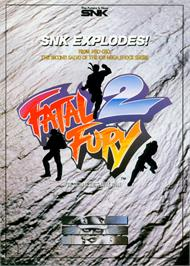 Advert for Fatal Fury 2 / Garou Densetsu 2 - arata-naru tatakai on the Arcade.
