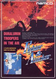 Advert for Fighter & Attacker on the Arcade.