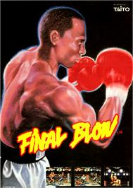 Advert for Final Blow on the Atari ST.