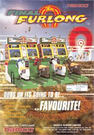 Advert for Final Furlong on the Arcade.