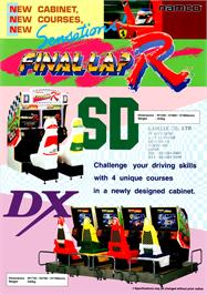 Advert for Final Lap R on the Arcade.