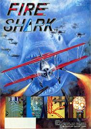 Advert for Fire Shark on the Sega Nomad.