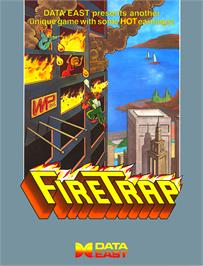 Advert for Fire Trap on the Arcade.