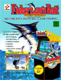 Advert for Fisherman's Bait - Marlin Challenge on the Arcade.