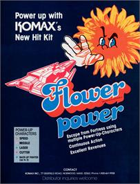 Advert for Flower on the Arcade.