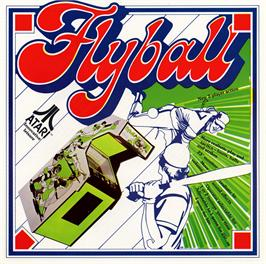 Advert for Flyball on the Arcade.
