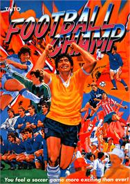 Advert for Football Champ on the Arcade.