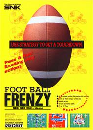 Advert for Football Frenzy on the Arcade.