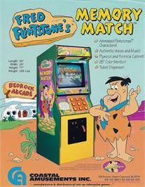 Advert for Fred Flintstones' Memory Match on the Arcade.
