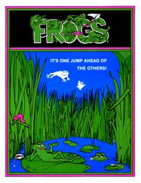 Advert for Frogs on the Arcade.