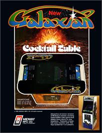 Advert for Galaxian Part 4 on the Arcade.