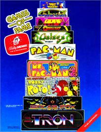 Advert for Galaxian Part X on the Arcade.