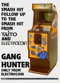 Advert for Gang Hunter on the Arcade.