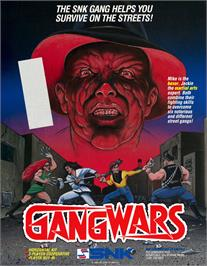 Advert for Gang Wars on the Arcade.