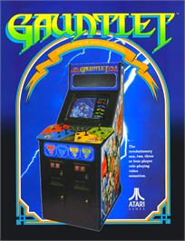 Advert for Gauntlet on the Atari ST.