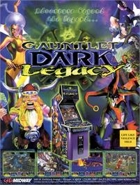 Advert for Gauntlet Dark Legacy on the Nintendo GameCube.