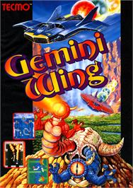 Advert for Gemini Wing on the Arcade.