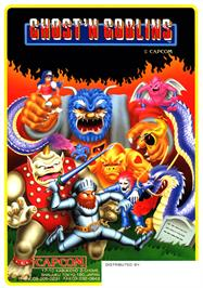 Advert for Ghosts'n Goblins on the Commodore Amiga.