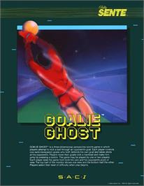 Advert for Goalie Ghost on the Arcade.