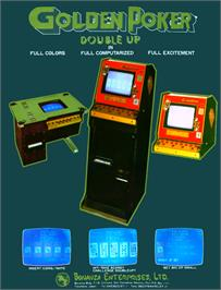 Advert for Golden Poker Double Up on the Arcade.