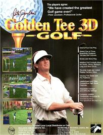 Advert for Golden Tee 3D Golf on the Arcade.