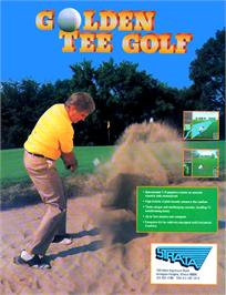 Advert for Golden Tee Golf on the Arcade.