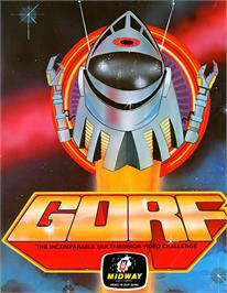 Advert for Gorf on the Arcade.