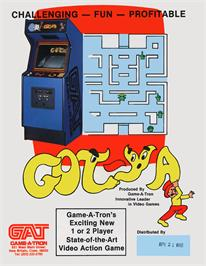 Advert for Got-Ya on the Arcade.