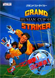 Advert for Grand Striker on the Arcade.