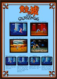 Advert for Great Gurianos on the Arcade.