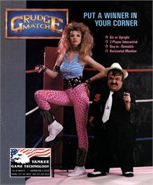 Advert for Grudge Match on the Arcade.