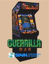 Advert for Guerrilla War on the Arcade.