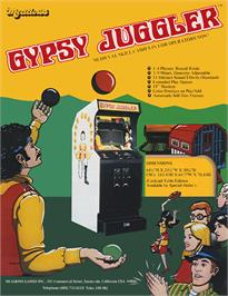 Advert for Gypsy Juggler on the Arcade.