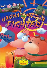 Advert for Hacha Mecha Fighter on the Arcade.