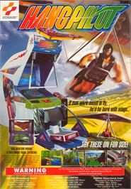 Advert for Hang Pilot on the Arcade.
