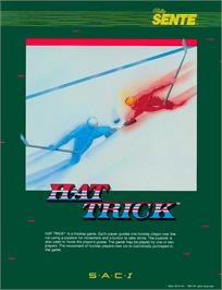 Advert for Hat Trick on the Commodore Amiga.