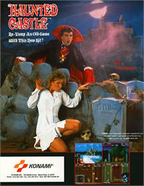 Advert for Haunted Castle on the Arcade.