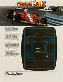 Advert for Head On 2 on the Arcade.